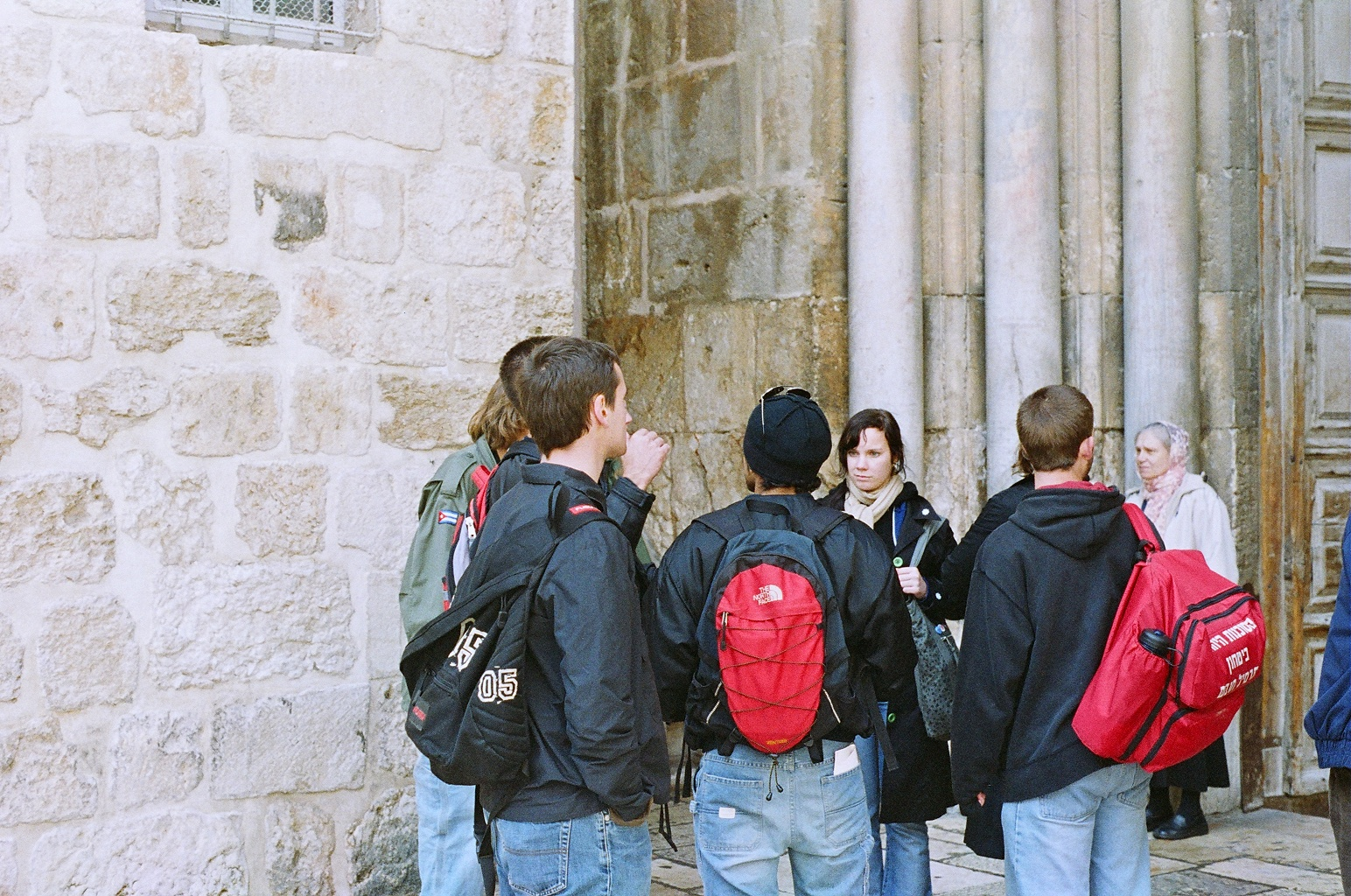 열네번째 이야기, 이스라엘에서 만난 사람들