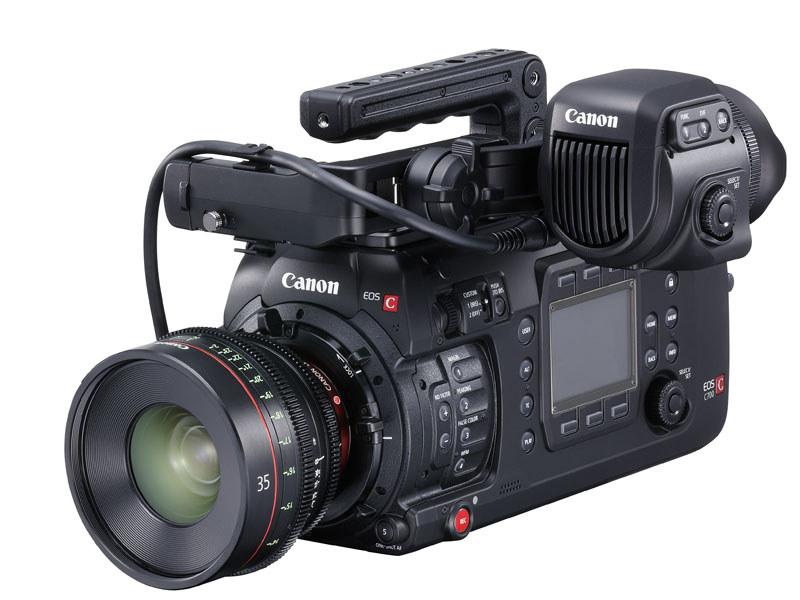 캐논 새로운 시네마 카메라 C700 FF 발매