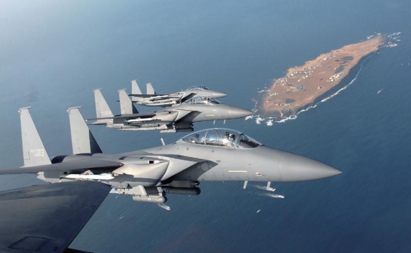F-15K 추락...