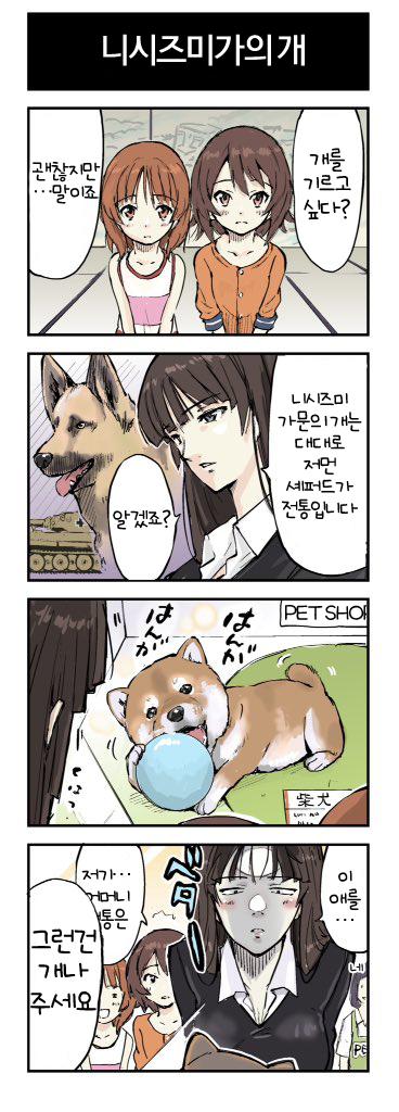 [걸즈&판처]니시즈미가의 개