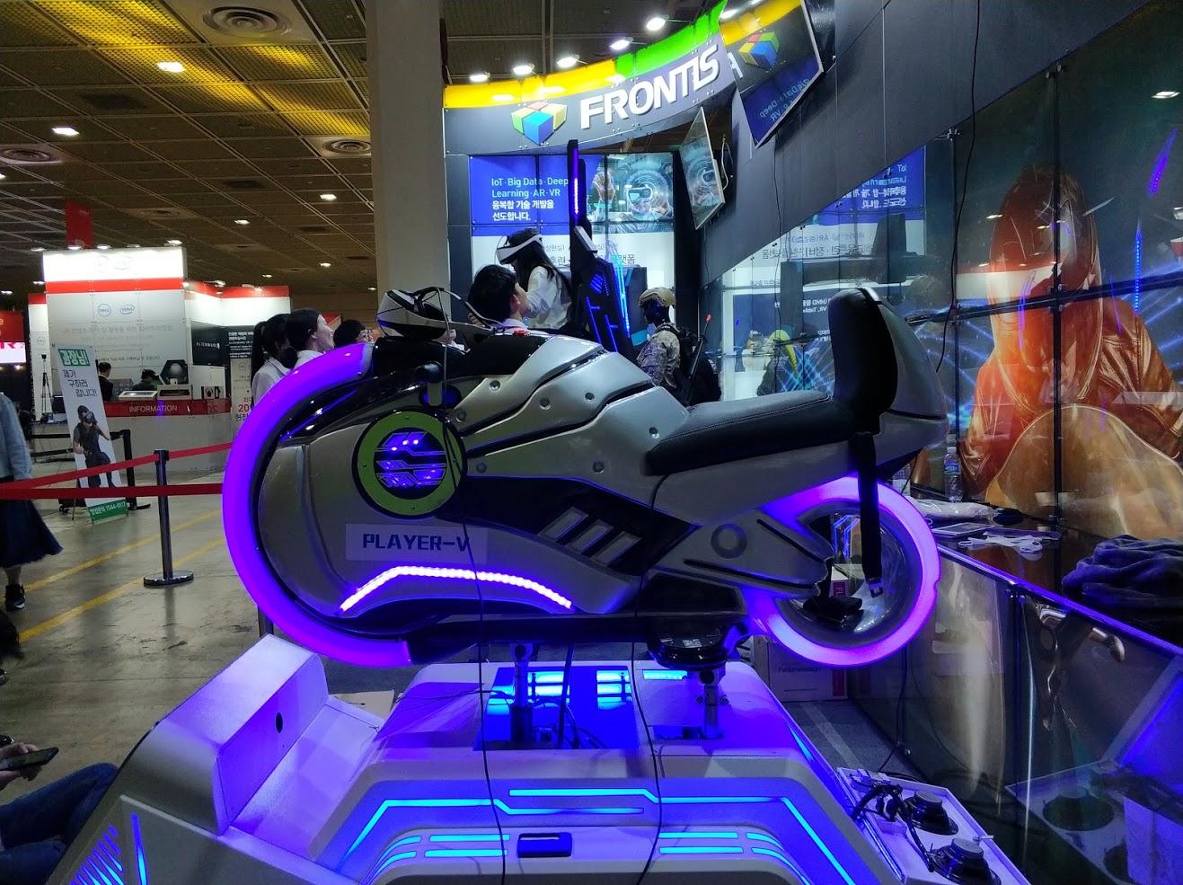 서울 VR AR 엑스포 2018에 다녀왔습니다