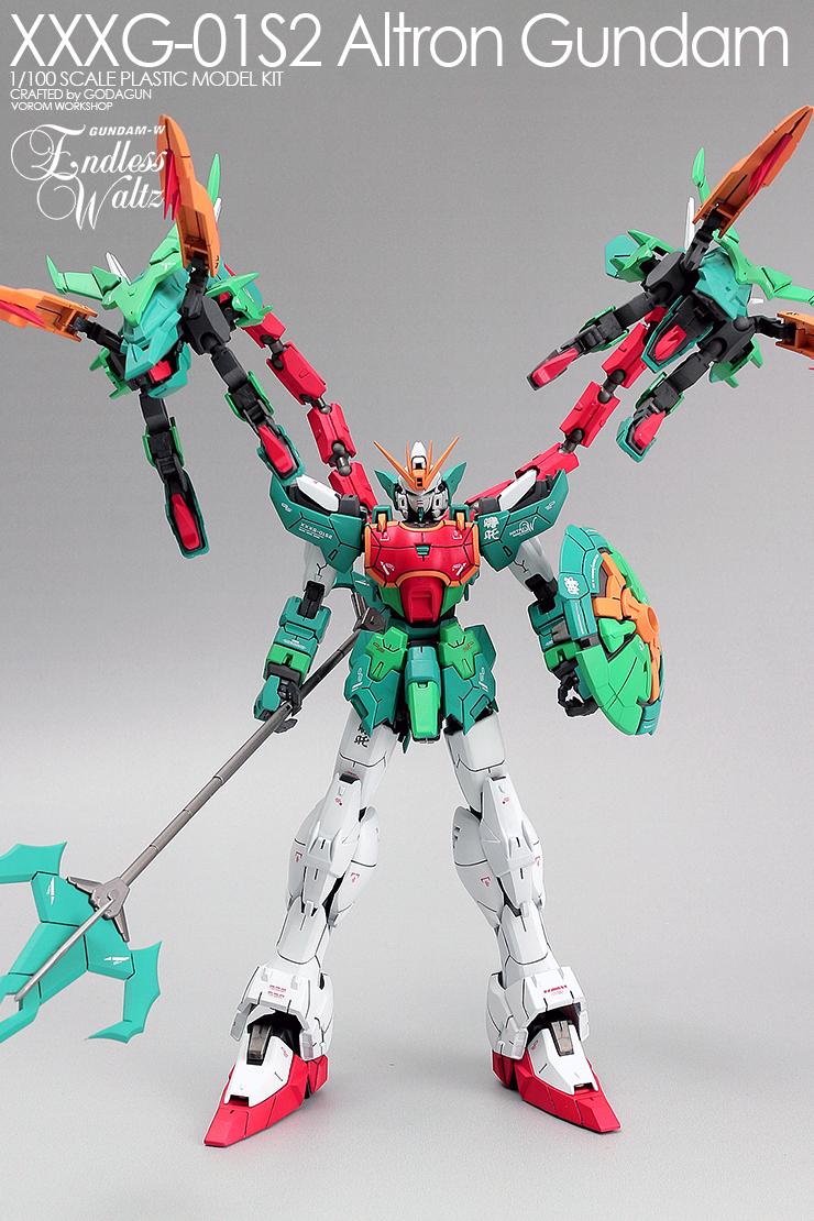 1/100 XXXG-01S2 Altron Gundam