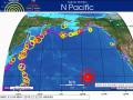 하와이 화산폭발과 규모 6.9의 지진 발생
