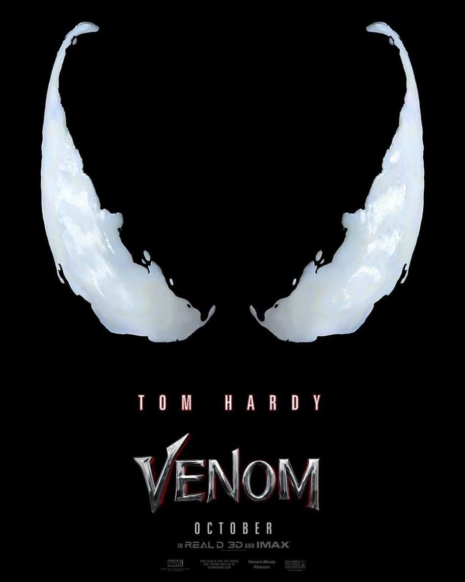 """톰 하디의 """"베놈"""" 예고편입니다."""