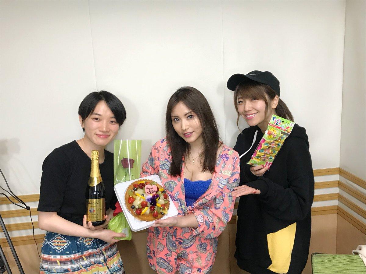 성우 다카하시 치아키씨의 사진, 방송에서 생일 ..