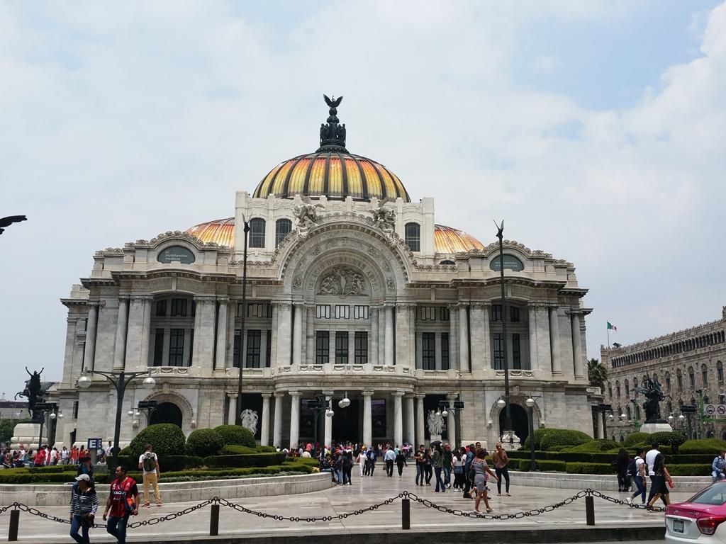 [멕시코] 멕시코 시티의 중심 Parque Alemada