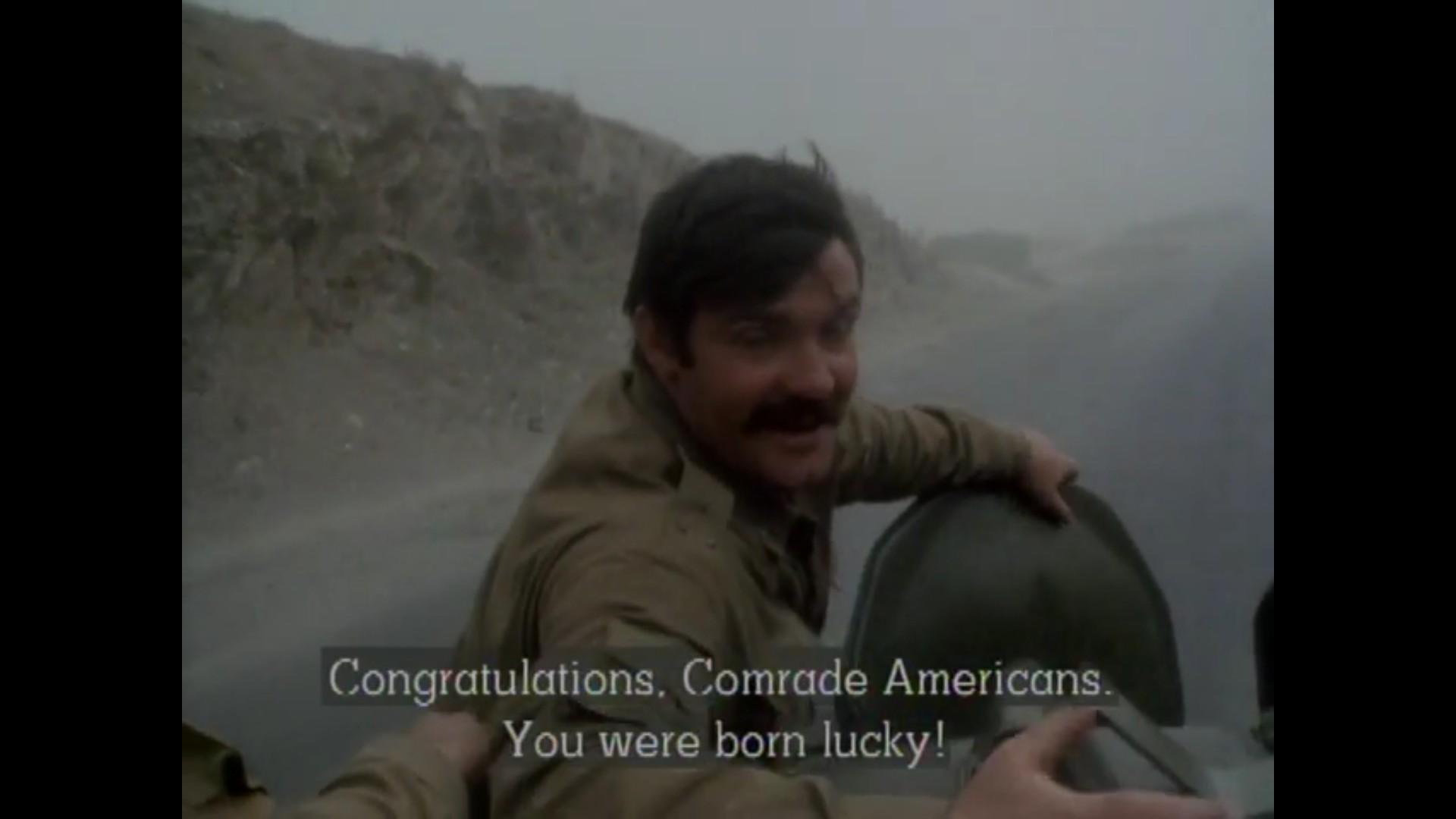 """""""축하하구려, 미국인 동지!"""""""