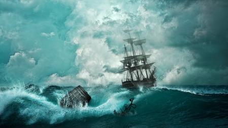 바다의 추리극, 마리 세레스트 호 사건