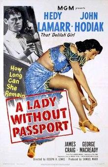 여권 없는 여인 (A Lady Without Passport, 1950)