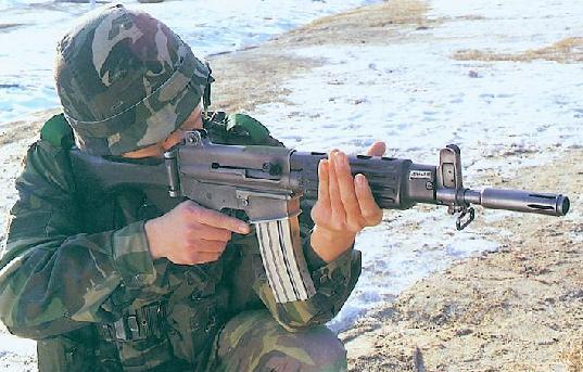 미필들은 모르는 국산소총!!!