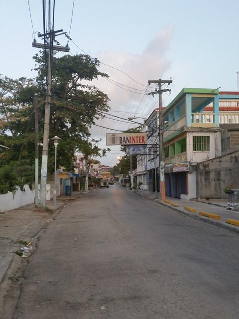 [도미니카공화국] 아침에 보는 카리브해 해변 Boc..