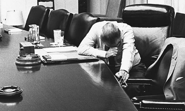 """린든 존슨,""""미국의 체임벌린이 되기 싫었다!"""""""