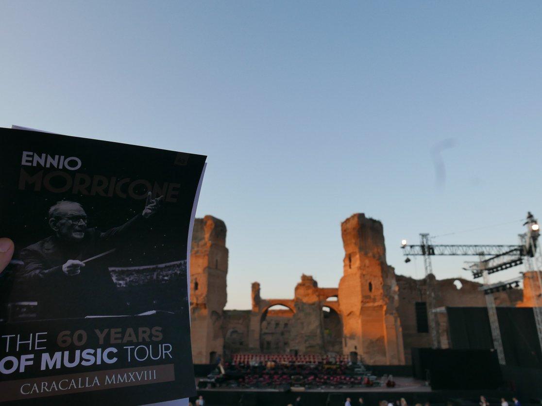 Ennio Morricone @ Terme di Caracalla.