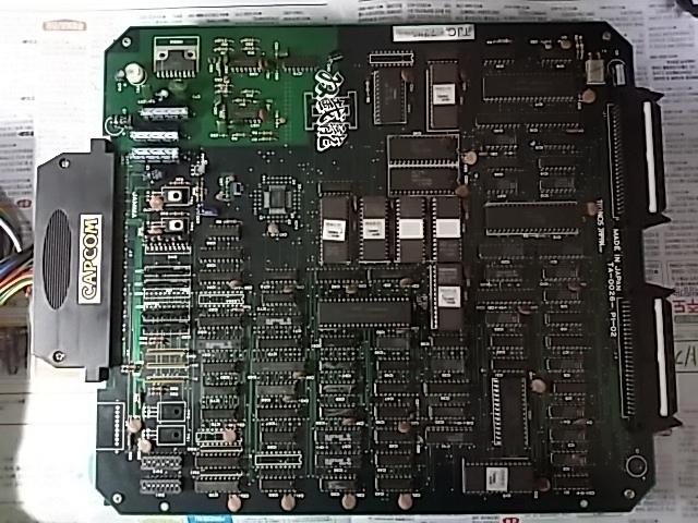 더블드래곤 2 아케이드 PCB (双截龍2, TECHNOS)