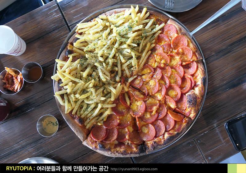 2018.7.10. 피자네버슬립스 + 몰리스팝스(서교동) ..