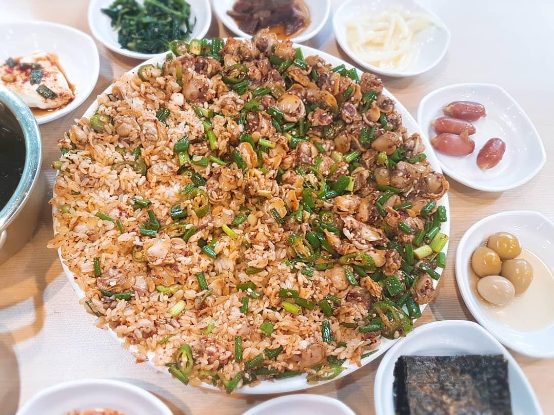 [강릉] 엄지네포장마차 꼬막무침 꼬막비빔밥 육..