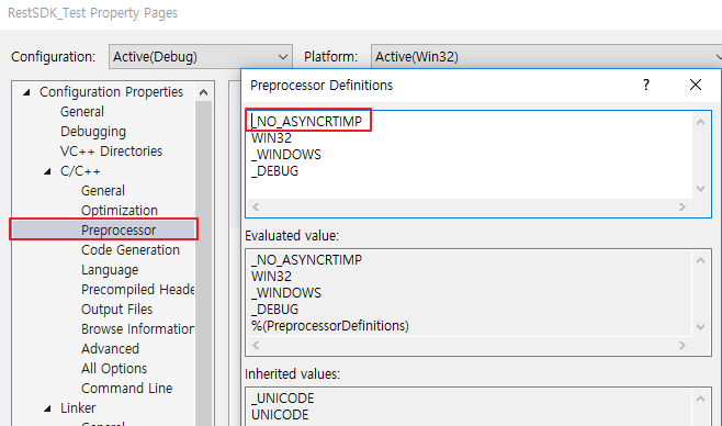 마누 : C++ REST SDK 설치