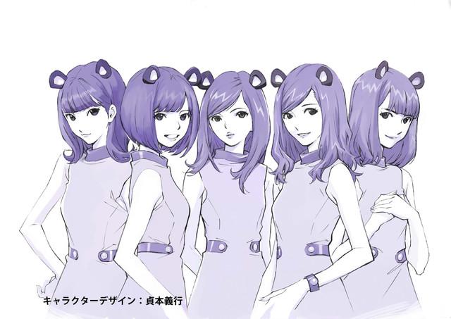노기자카46 출연 마우스 컴퓨터의 CM 애니메이션판..