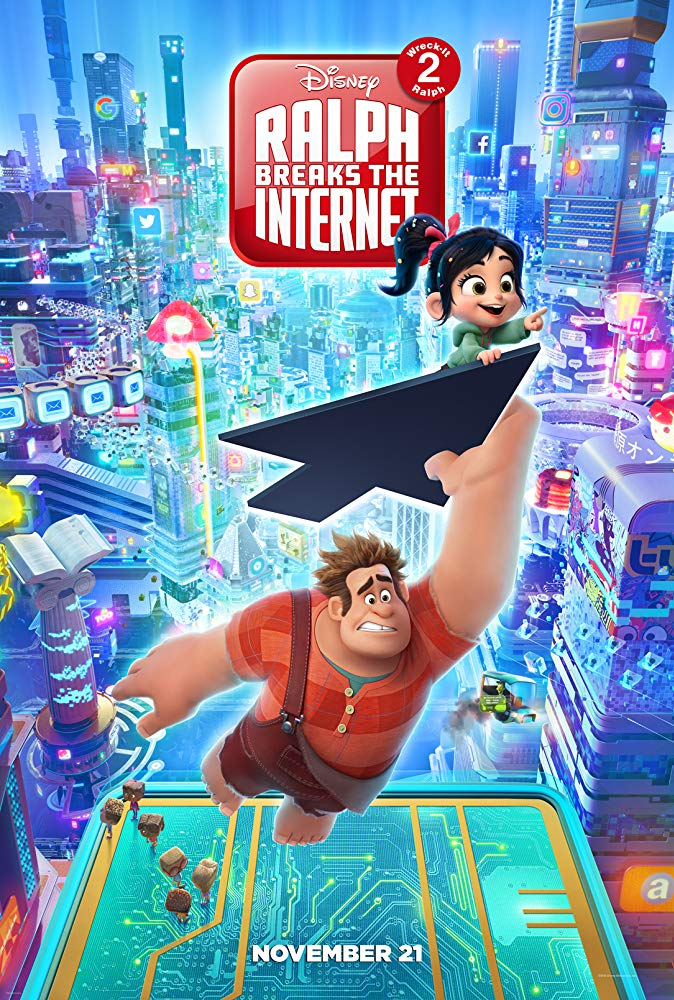 """Ralph Breaks the Internet : Wreck-It Ralph 2"".."