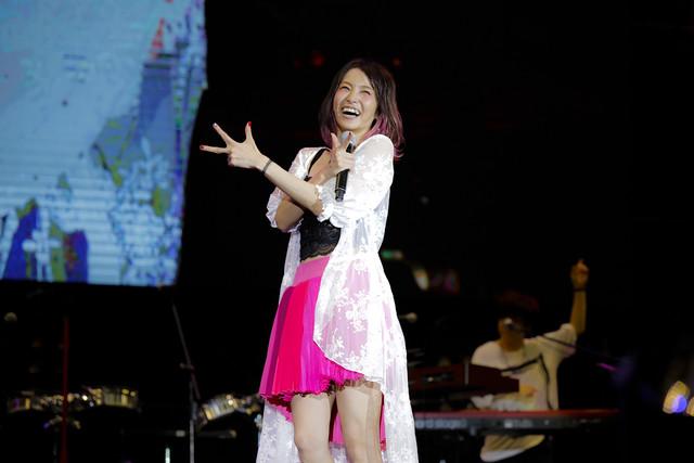 LiSA씨가 2018년 8월 18일에 아시아 투어 대만 공연을..
