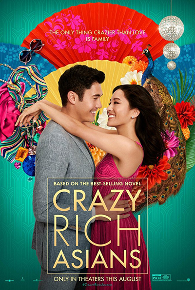 북미 박스오피스 'Crazy Rich Asians' 1위!