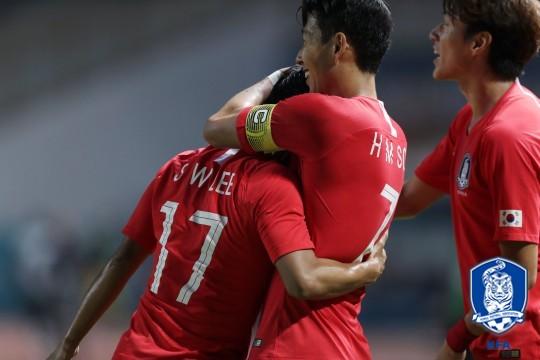 2018 팔렘방 아시안게임 축구 이란전 골장면 하이라이트