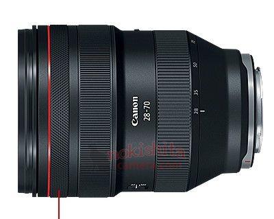 캐논 EOS R 공식 스펙시트 및 렌즈 사양 유출