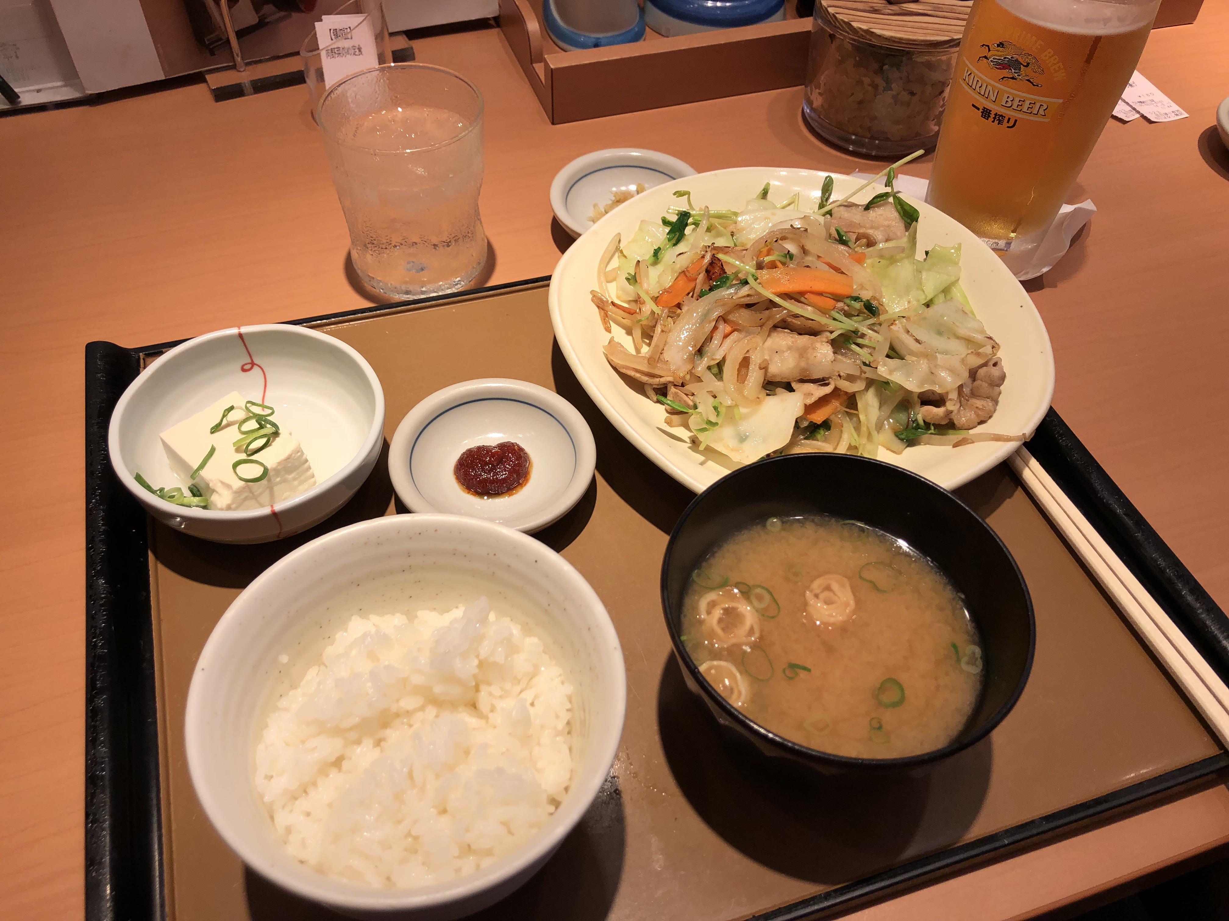 덴덴타운에서 간단히 식사하기, [오사카]やよい軒